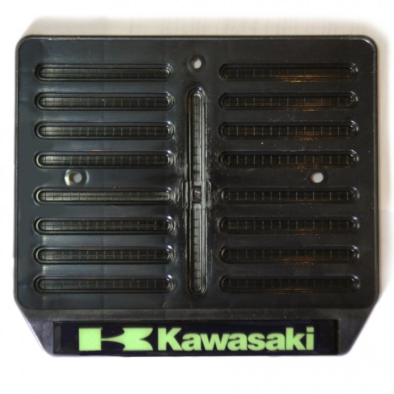 Рамка для крепления номера мотоцикла с логотипом  Kawasaki, арт: 9792 - Крепления номера, рамки
