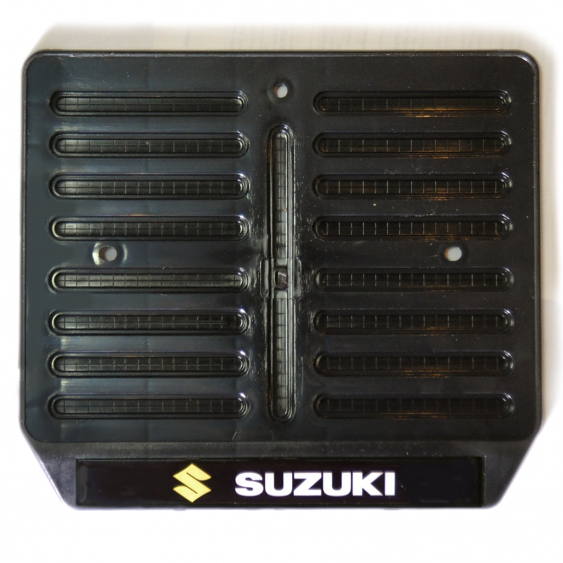 Рамка для крепления номера мотоцикла с логотипом  Suzuki, арт: 9793 - Крепления номера, рамки