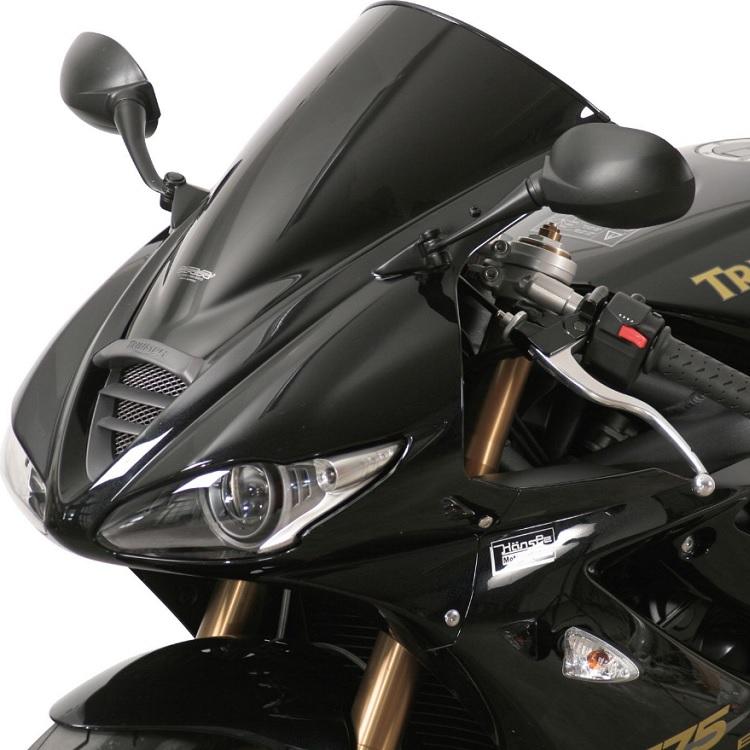 Стекло ветровое MRA Racingscreen чёрное для CBR 600 F (2011), арт: 9934 - Стекла